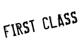 First class stamp Stock Photo