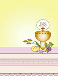 First Communion. Symbolic illustration for the first communion Stock Photo