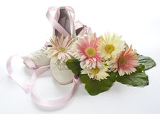 First Communion 5. Shoes, and wedding favors first communion Royalty Free Stock Images