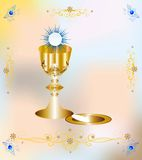 First communion vector illustration