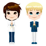 First Communion Boys Stock Photography