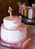 First Communion Cake Royalty Free Stock Photography