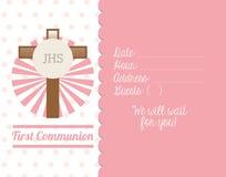 First Communion Card Design