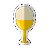 First communion chalice icon. Vector illustration design Stock Images