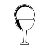 First communion chalice icon. Vector illustration design Royalty Free Stock Photo