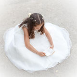 First communion or confirmation Royalty Free Stock Photo