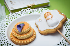 First Communion Cookies Stock Photos