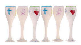 First communion cup Royalty Free Stock Images
