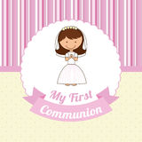 First communion Royalty Free Stock Photography