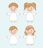 First communion Stock Image