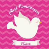 First communion design. Vector illustration eps10 graphic Stock Photo