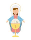 First communion design. Vector illustration eps10 graphic Royalty Free Stock Photos