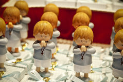First communion dolls Stock Photo