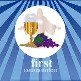 The First Communion, or First Holy Communion. First Holy Communion, is a ceremony held in the Latin Church tradition of the Catholic Church. It is the colloquial Stock Images