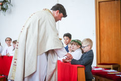 First communion Royalty Free Stock Images