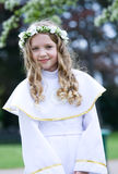 First Communion - portrait Royalty Free Stock Photo