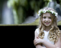 First Communion - portrait Royalty Free Stock Photos
