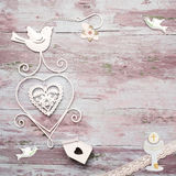 First Communion vintage background Stock Photos