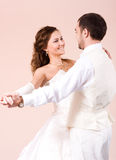 The first dance Royalty Free Stock Photo
