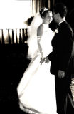 First Dance. Bride and Groom dancing royalty free stock images