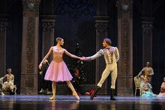 The first dance-The Ballet  Nutcracker Royalty Free Stock Photo