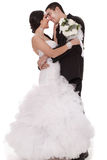 First Dance Bride And Groom Royalty Free Stock Image