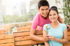 First date Stock Image