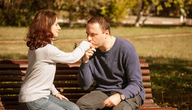 First date Stock Photography