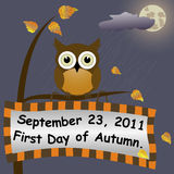 First Day of Autumn. Royalty Free Stock Photography
