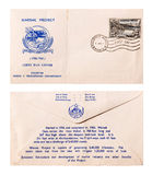 First Day Cover 1960 - Pakistan Royalty Free Stock Photos