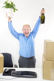 First day at new job Royalty Free Stock Images