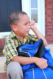 First Day Of School Stock Photography