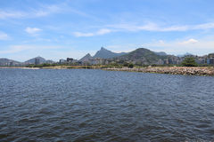 First day of summer in Brazil. Rio de Janeiro, Brazil, December 21, 2016: Summer officially began in Brazil this morning 21. In Rio de Janeiro the day was sunny royalty free stock images