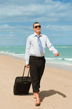 First day of vacation Stock Photos
