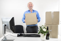 First day of work Stock Images