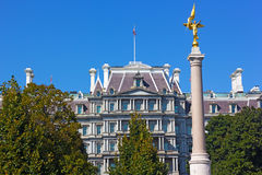 The First Division Monument, Washington DC. Royalty Free Stock Photography
