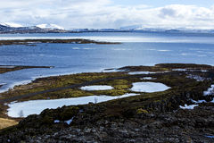 First European parliament Thingvellir in Iceland Royalty Free Stock Photos