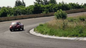First ever produced Porsche - model 356C, hd quality shot. Stock footage stock video
