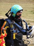 First Everest skydive Royalty Free Stock Image