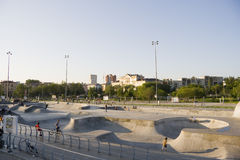First Extreme Park in Russia Stock Photography