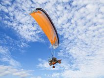 The first festival of Aeronautics `Moscow Sky` in Moscow region. Russia stock photography