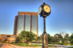 First Fidelity bank in Oklahoma City Royalty Free Stock Images