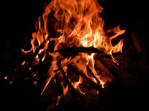 First Fire Royalty Free Stock Photography