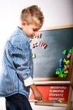 First grader boy Stock Photos