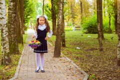 First grader, day of knowledge - 1. September Stock Images