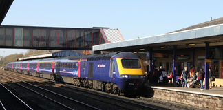 First Great Western HST in Oxford railway station Stock Photography