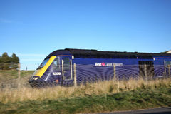 First Great Western railway train Royalty Free Stock Images
