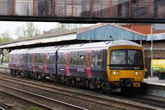 First Great Western Turbo dmu in Oxford station Royalty Free Stock Photos