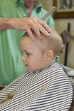 First Haircut Royalty Free Stock Photos