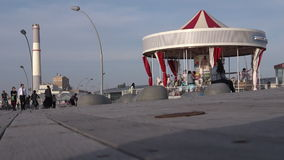 The First Hebrew Carousel in Tel Aviv Port, Israel